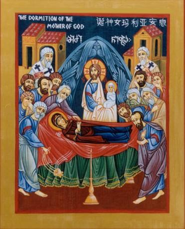 十字架下的圣母